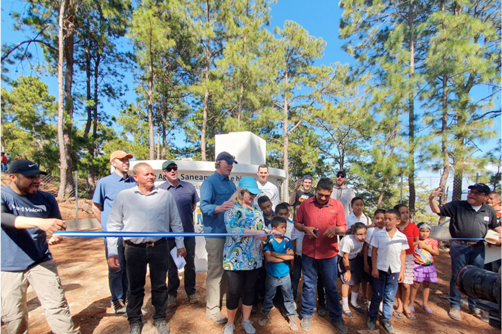 Mediassociates gives back by providing water to adopted villages in Honduras