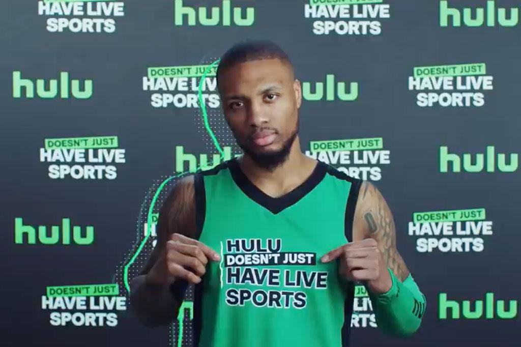 Hulu: Dame D.O.L.L.A. – Hulu Doesn't Just Have Live Sports