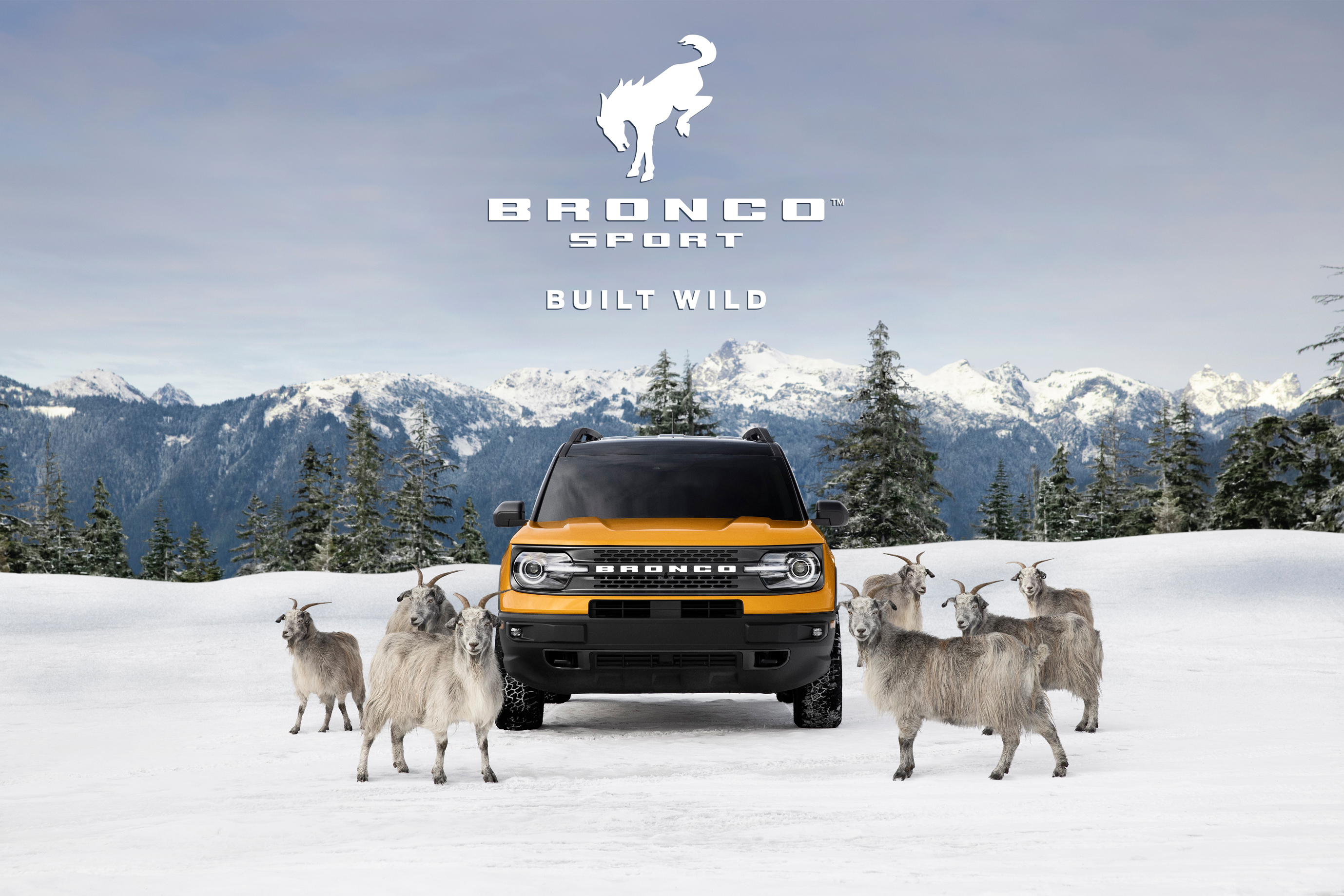 Ford Bronco Sport new ad campaign GOAT mode goat Wieden and Kennedy New York WK WKNY commercial goats