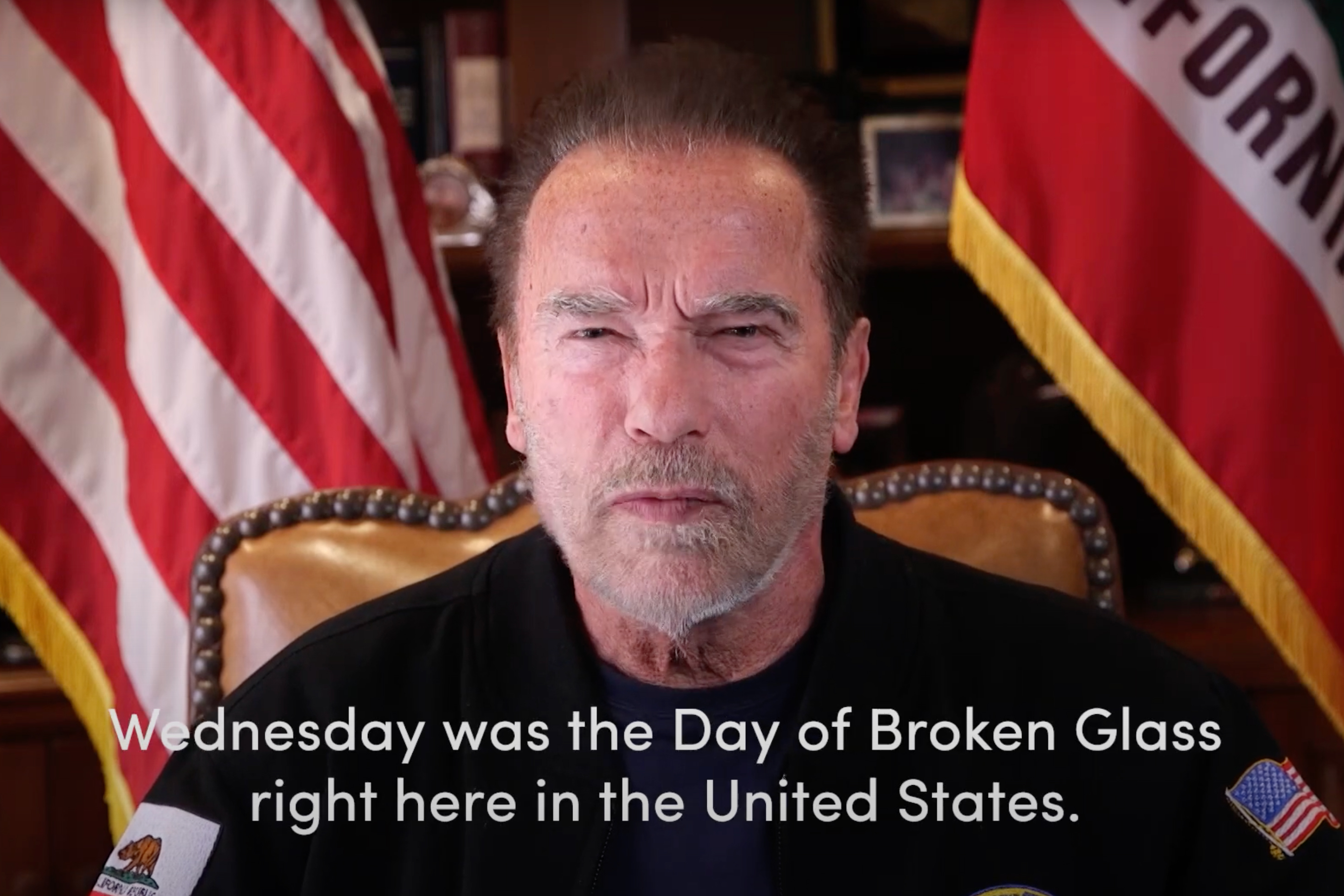 Why Arnold Schwarzenegger's moving pro-Democracy video works so brilliantly