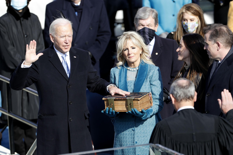 Brands respond to Joe Biden's inauguration