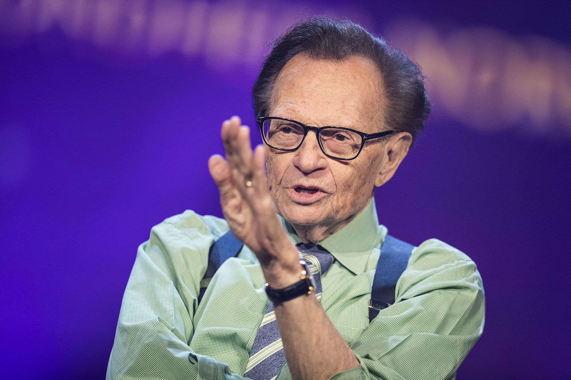 Broadcasting legend Larry King has died at 87