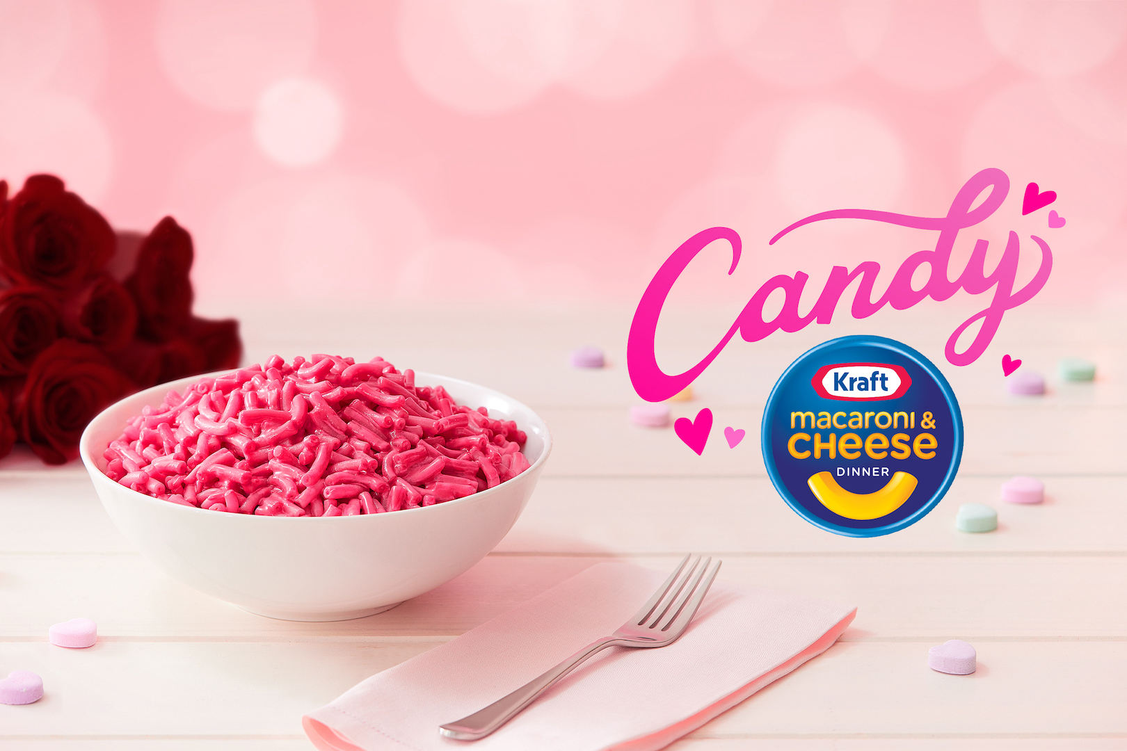 Kraft debuts pink and sweet Mac and Cheese for Valentine's Day