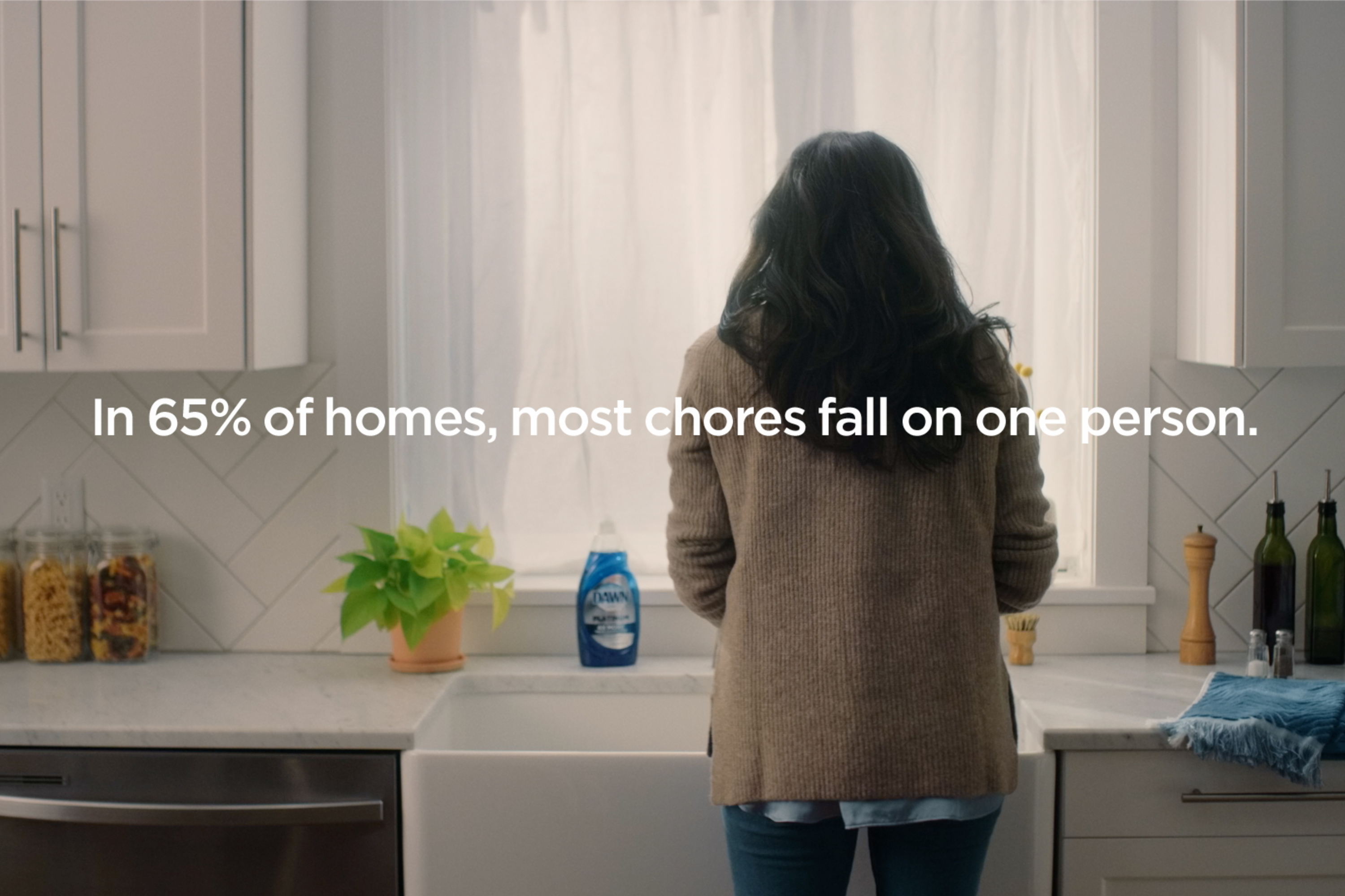 As women rage over the pandemic 'chore gap,' advertisers are leaning in
