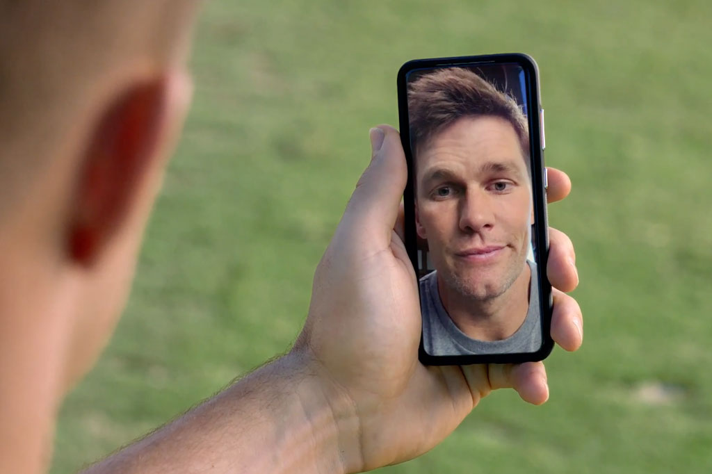 Watch the unedited Brady/Gronk T-Mobile Super Bowl commercial