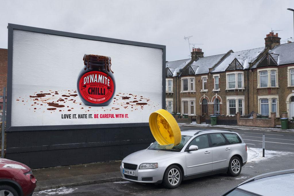 Marmite: Marmite Dynamite OOH