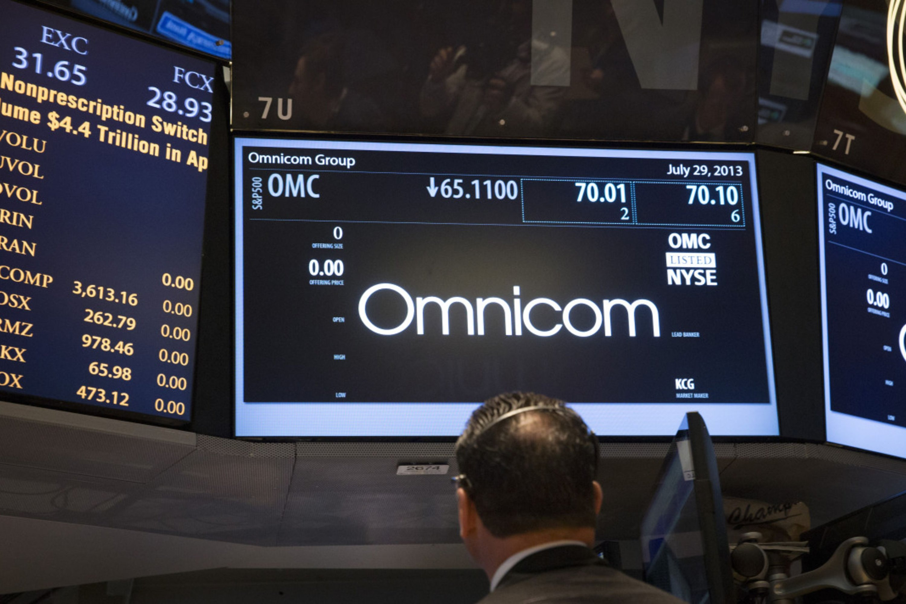 Omnicom sees light at the end of the tunnel for second quarter