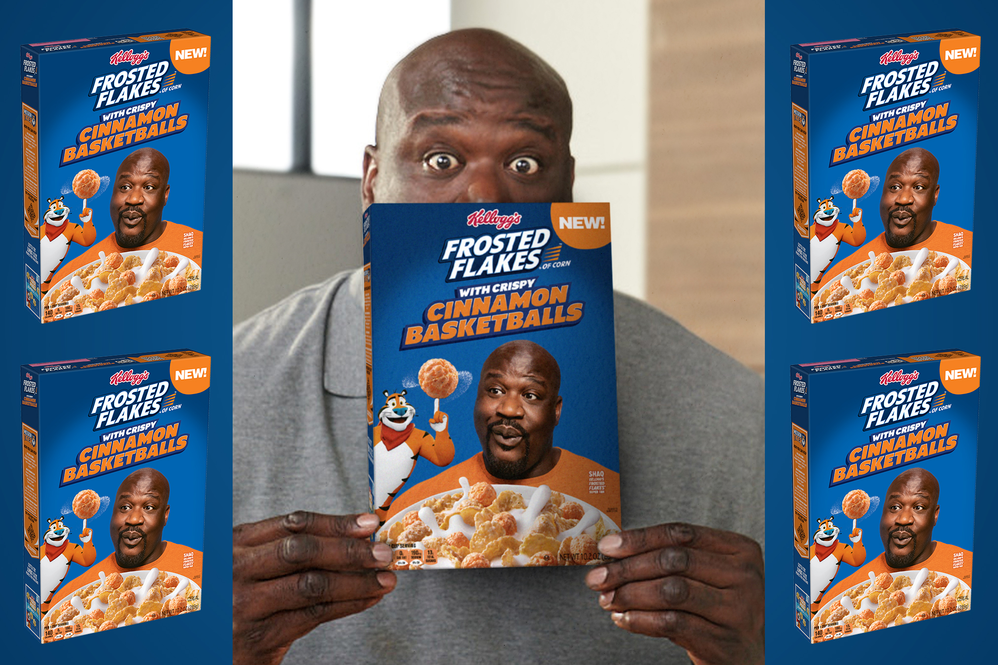 Shaq stands in for Tony the Tiger and Kendall Jenner gets into tequila biz
