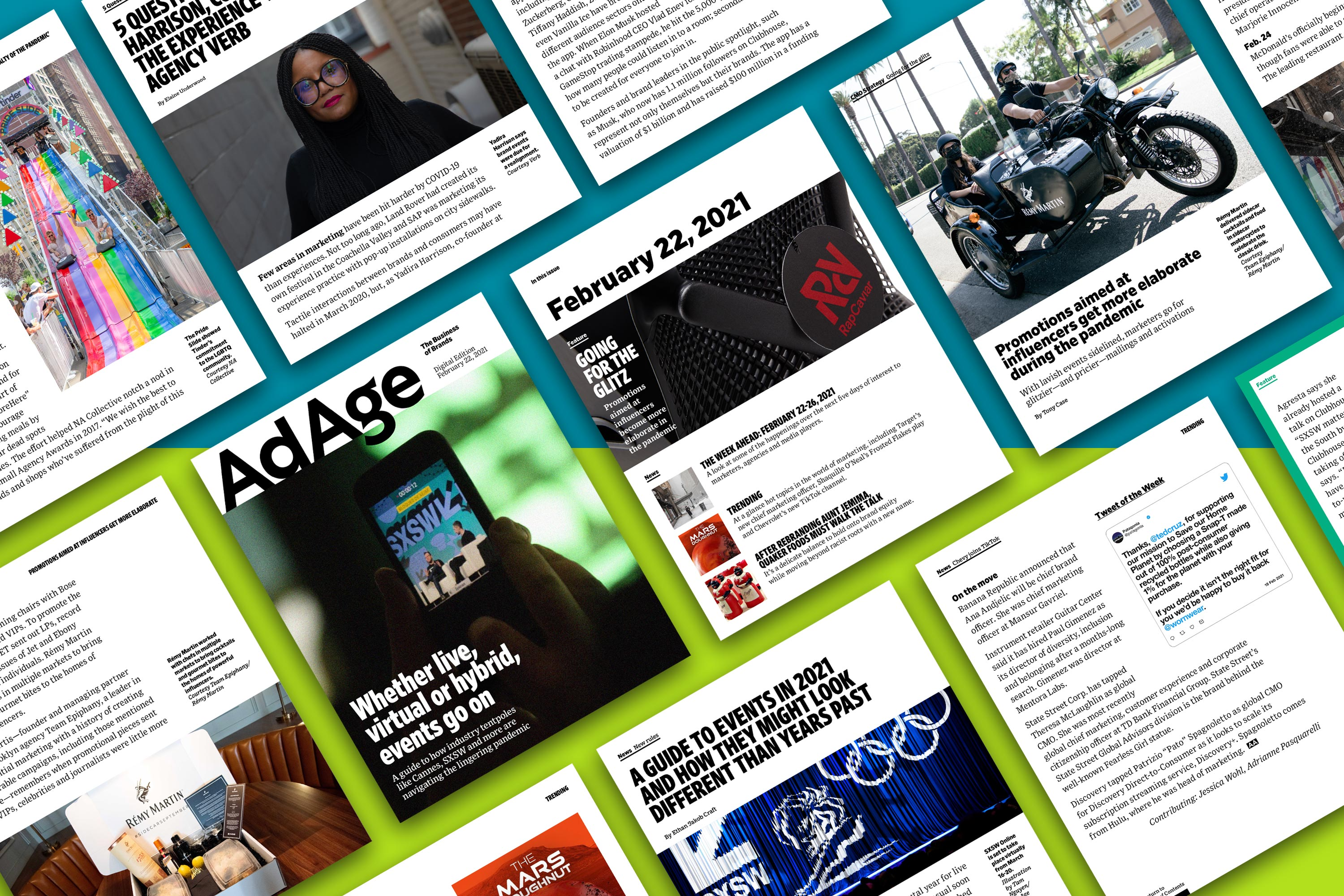A guide to industry events in the lingering pandemic: Ad Age Digital Edition