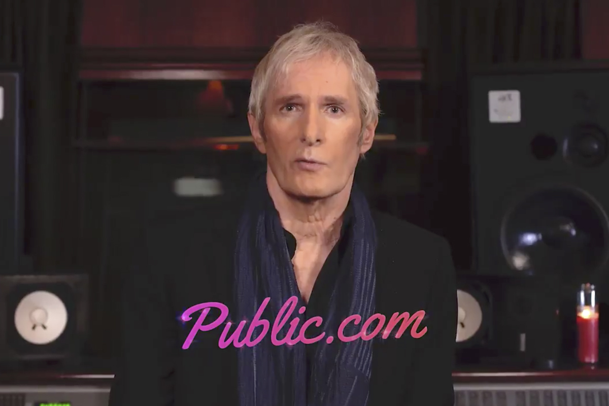 Michael Bolton croons a breakup song for investing app Public.com following Robinhood and Reddit fiasco