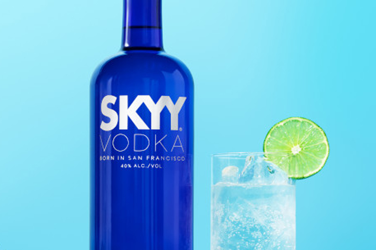 Skyy Vodka new global ad agency of record Mono Minneapolis New York NYC creative marketing advertising Campari Group alcohol Skyy Vodka rebrand relaunch new packaging bottle product alcohol liquor recipe