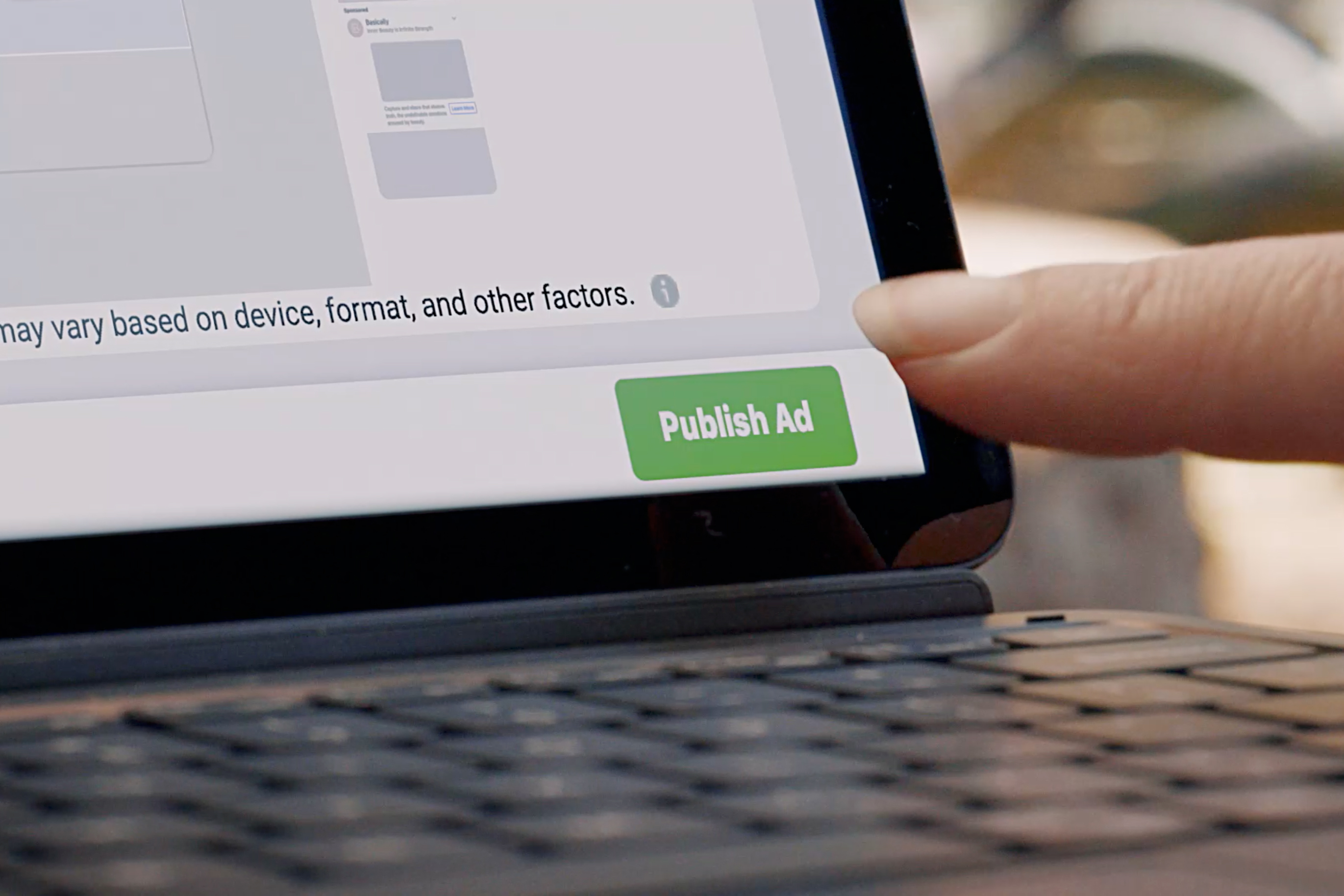 Facebook's new commercial, narrated by Grace Jones, celebrates 'big ideas' and personalized ads