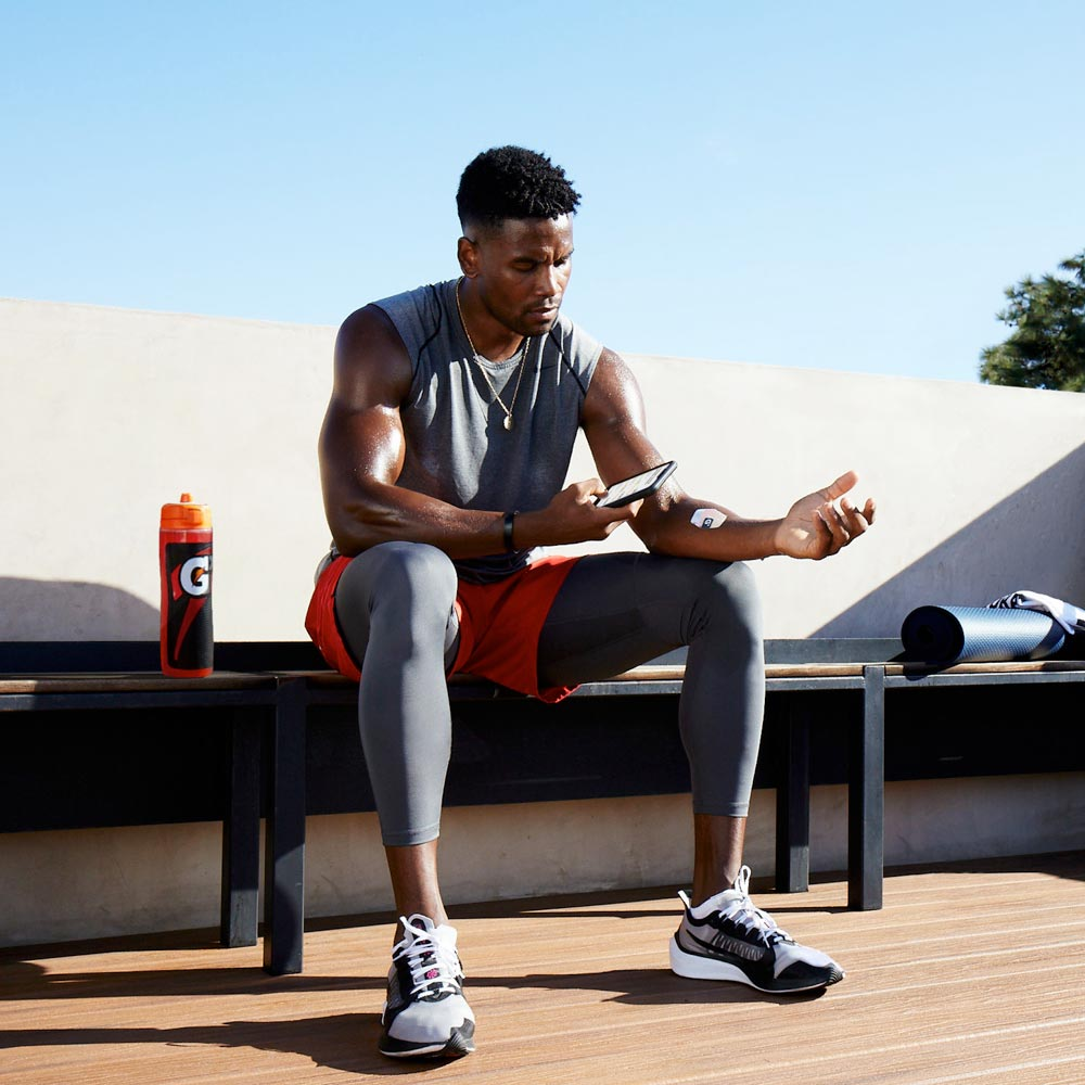Gatorade's new 'sweat patch' and app deliver personalized hydration recommendations