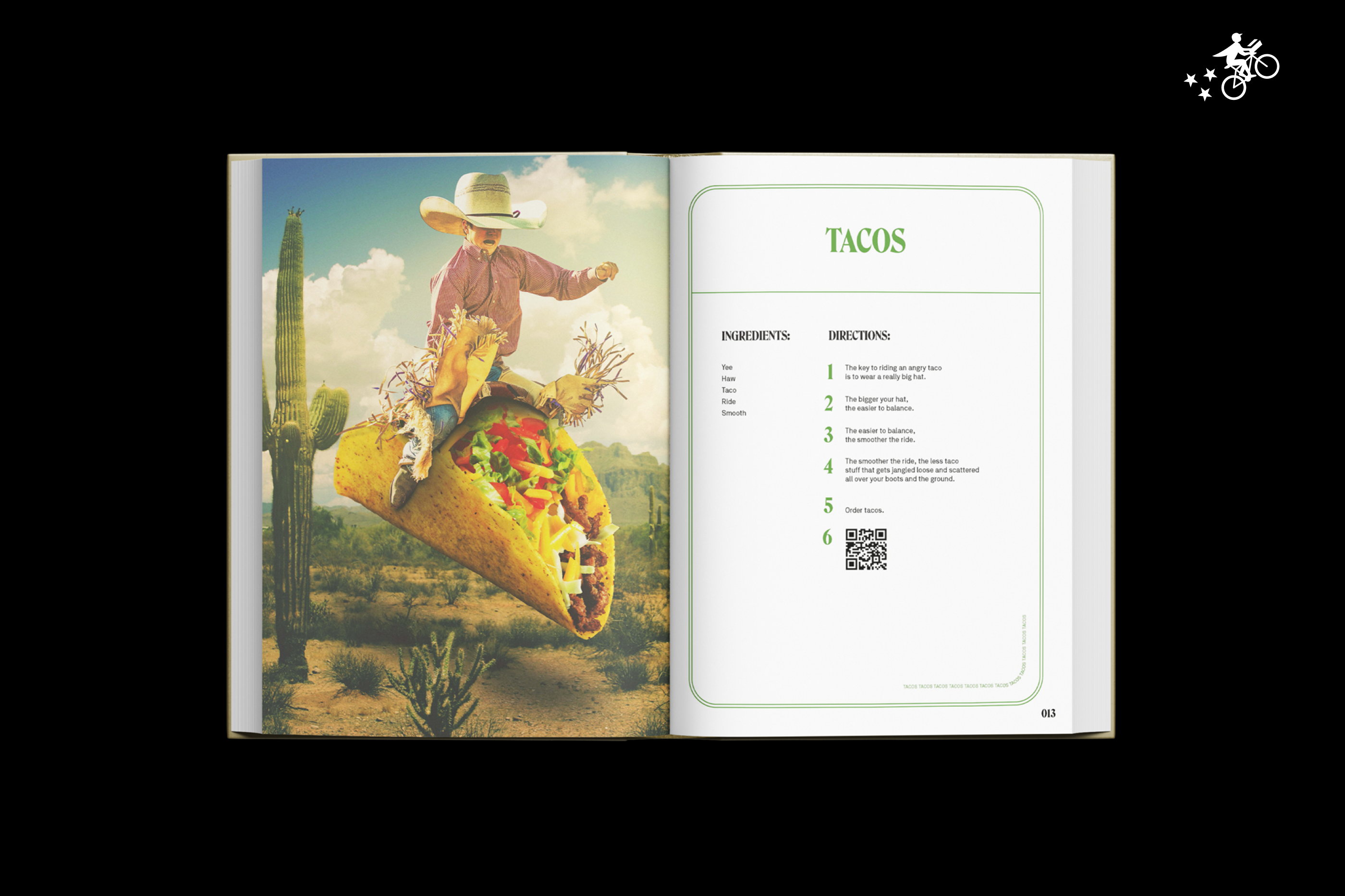 Postmates made a cookbook that doesn't require you to cook