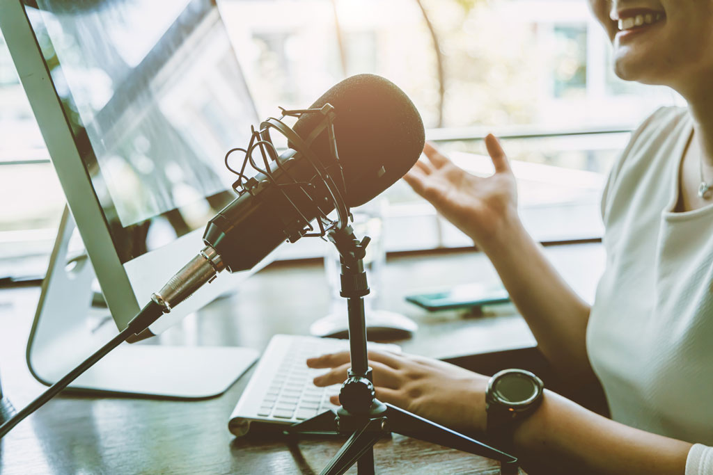 How podcasts give software company a platform to build its brand