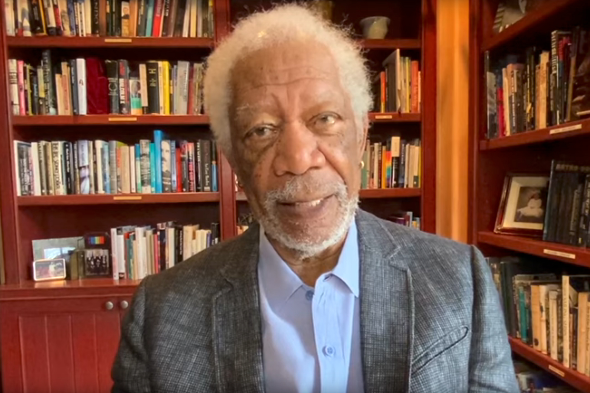 Morgan Freeman, the voice 'people trust,' assures COVID vaccine safety in new PSA