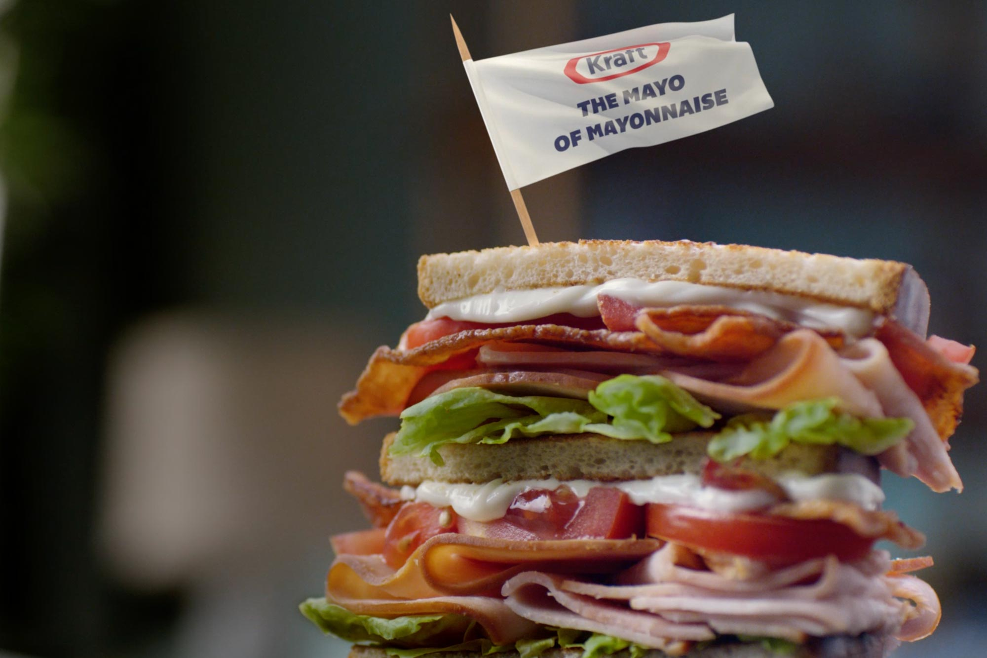 Kraft Mayo lays it on thick in its first campaign from Wieden+Kennedy NY