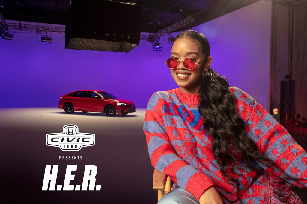Honda taps H.E.R. for the return of its Civic Tour concert series, but must overcome livestream fatigue