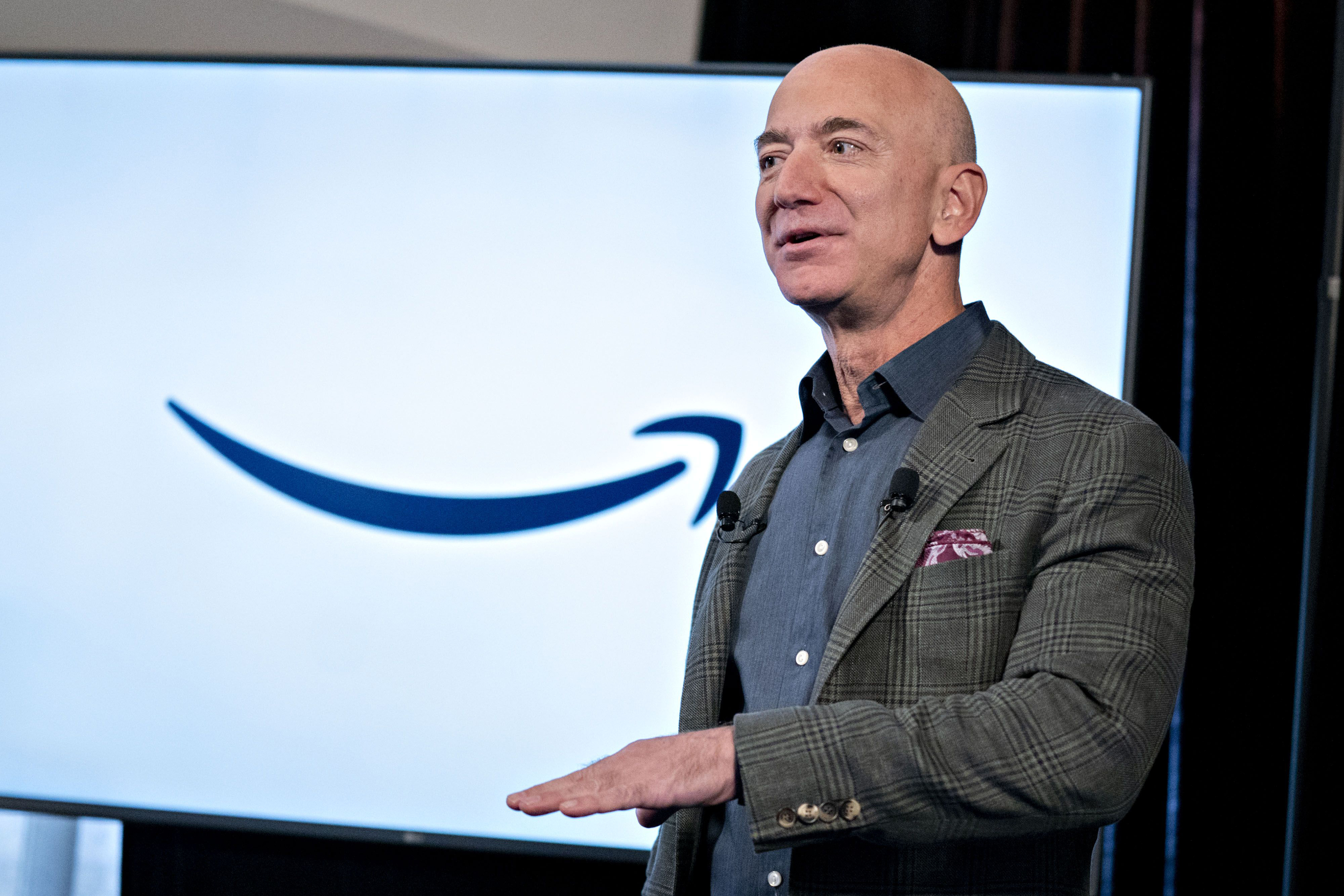 Jeff Bezos says Amazon must treat its workers better, following union vote
