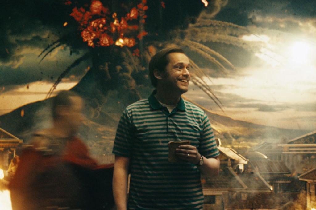 Alexa helps a homeschooling dad explain Pompeii in Amazon's blockbuster ad