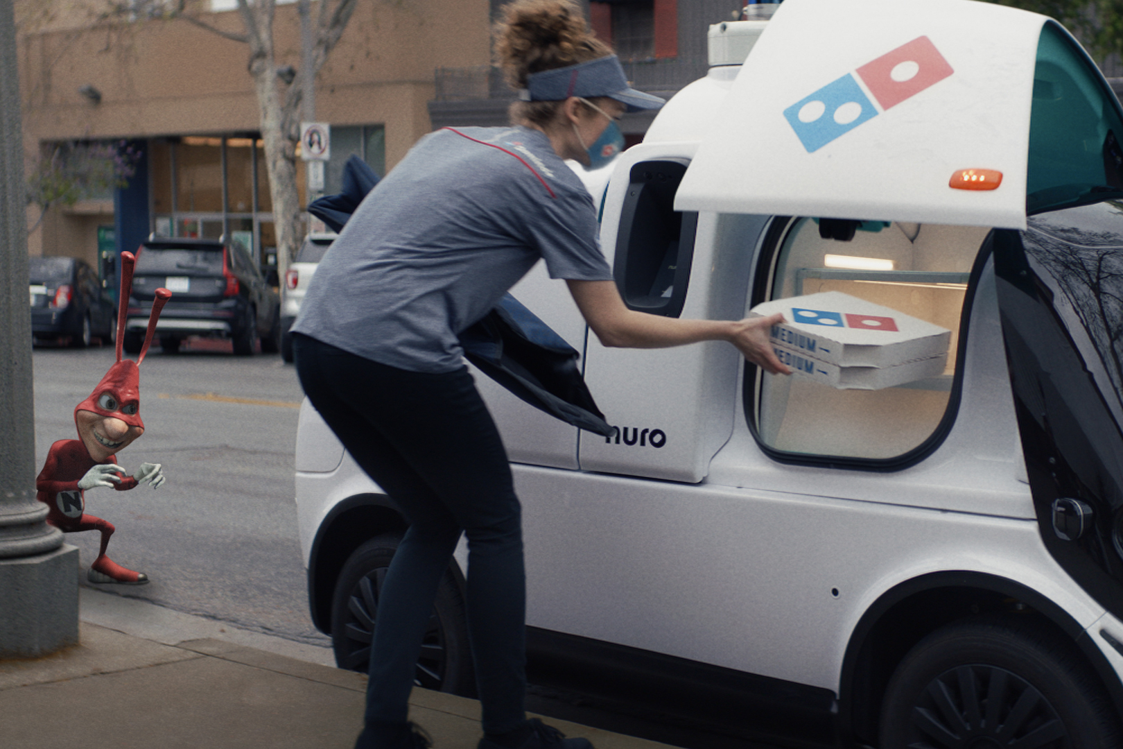 Domino's brings back the 1980s-era Noid