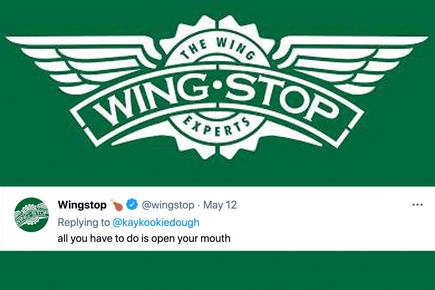 Wingstop's X-rated tweets turn heads, and Federer serves up Uniqlo pitch