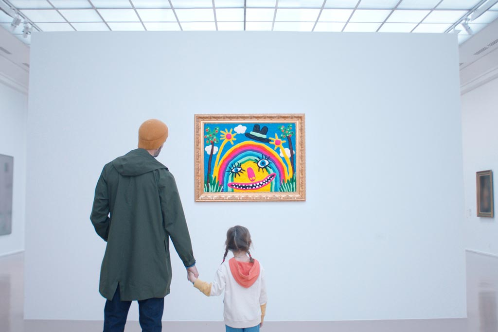 Play-Doh's 65th anniversary campaign began in a Paris museum