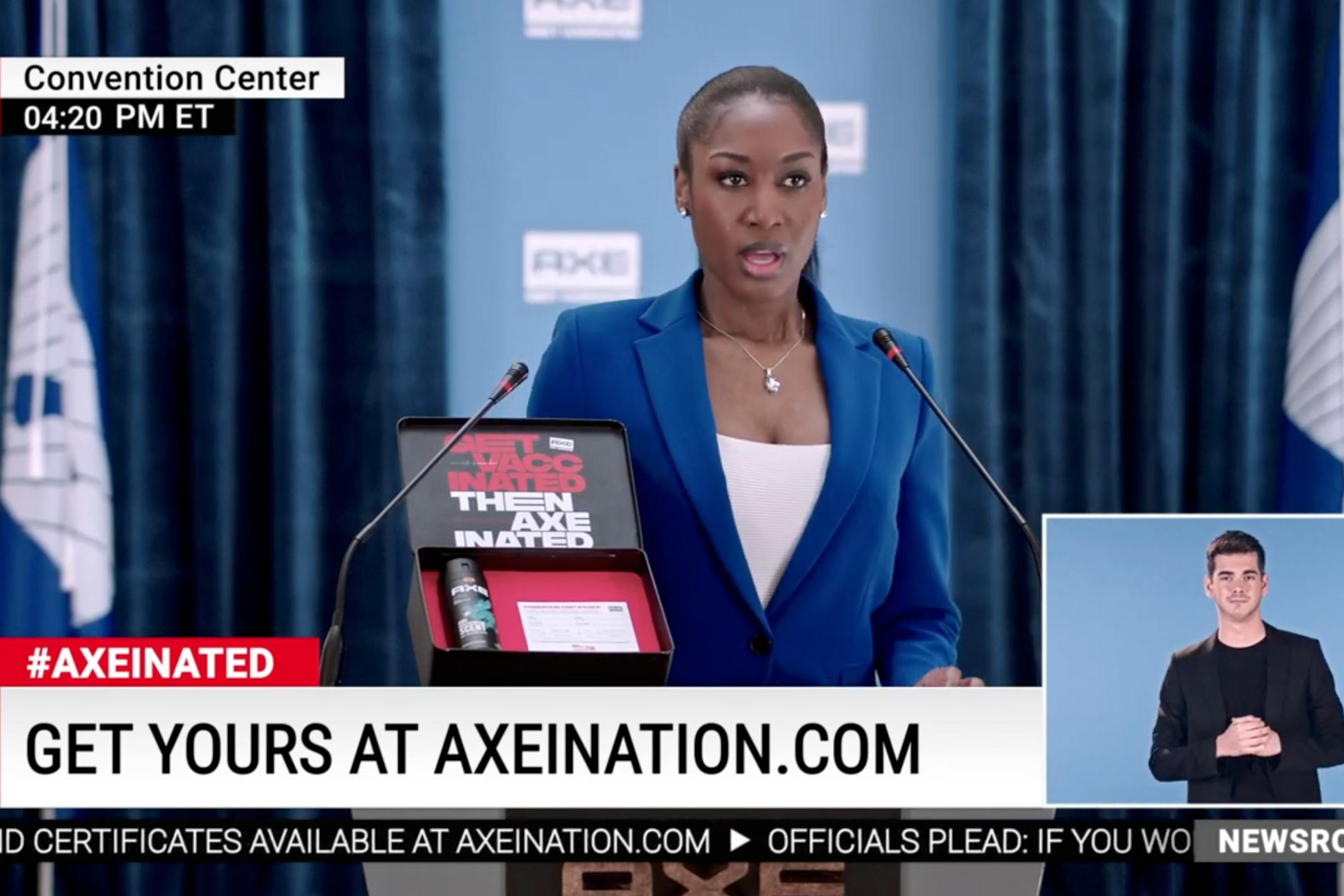 Axe: Get Axeinated