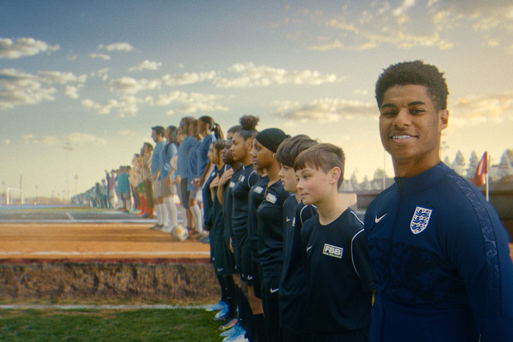 Nike declares a 'land of new football' in latest soccer ad