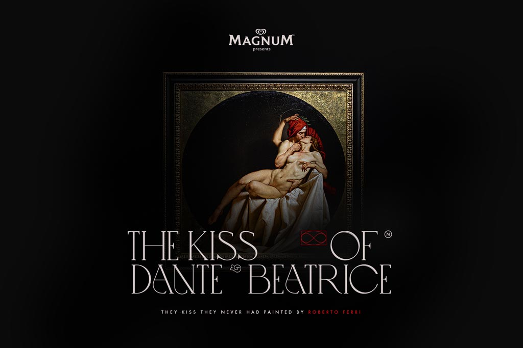 Magnum: The Kiss of Dante and Beatrice