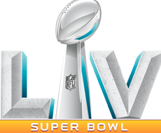 Super Bowl LV trophy icon