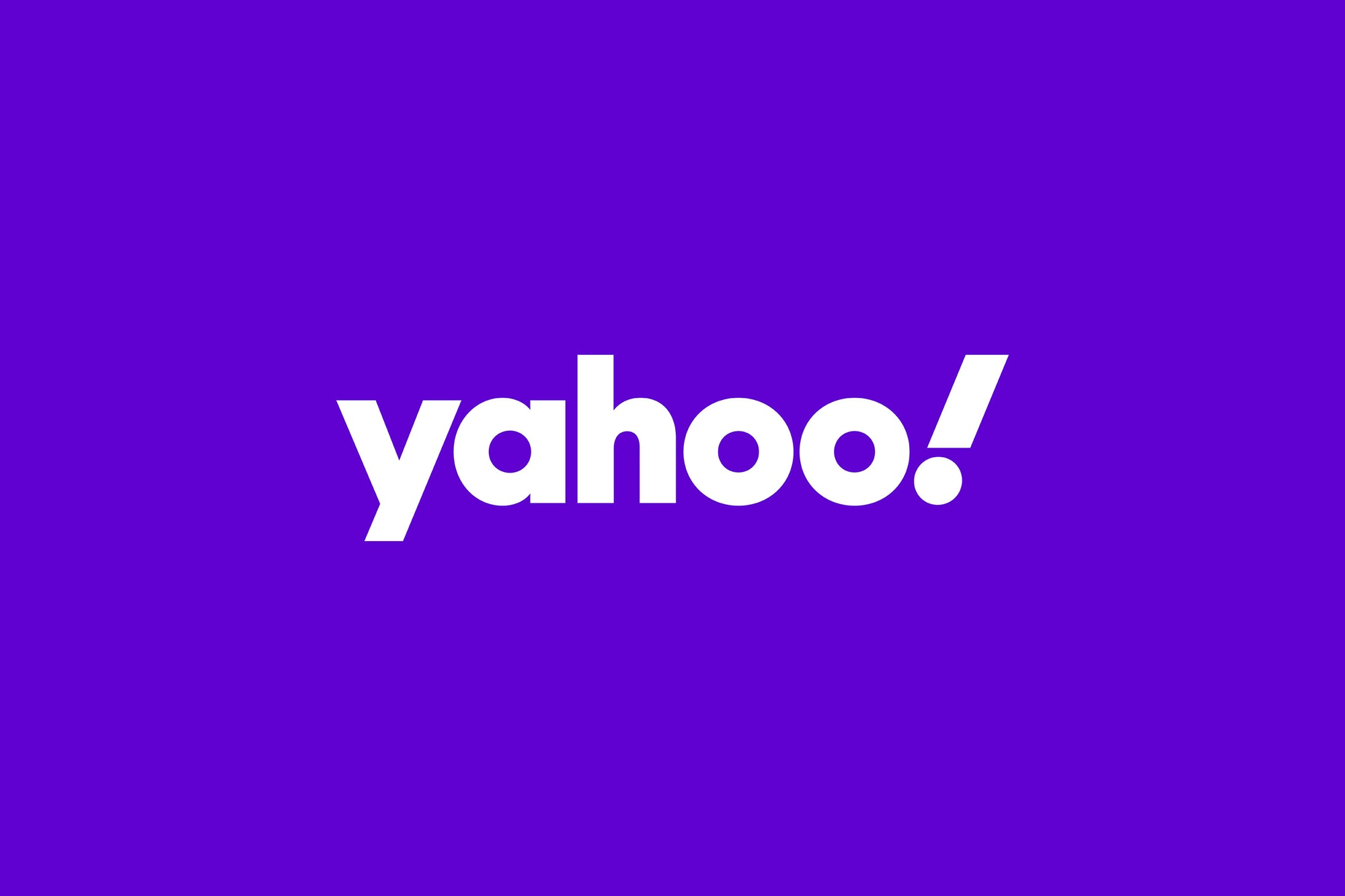 Yahoo debuted a new logo Monday, its third since launching in 1995.