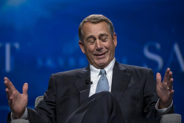 John Boehner morphs from marijuana foe to weed adviser