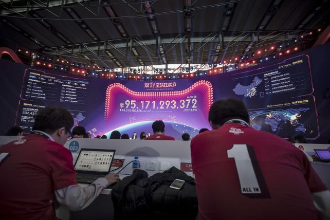 Alibaba goes international to hit new Singles' Day record
