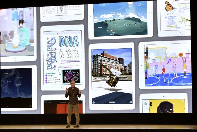 Apple pursues Google in education with $299 iPad
