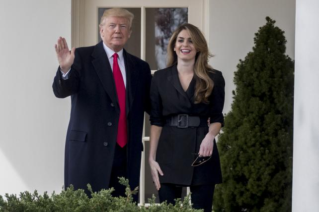 Hope Hicks joins Fox as head of PR