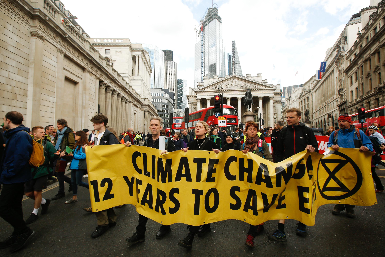 Climate change activists Extinction Rebellion plan action at Cannes