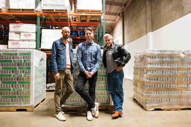 Bottoms Up: A New Brand of Mixers Comes From an Unlikely Team