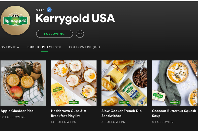 Kerrygold: Music Behind the Recipes