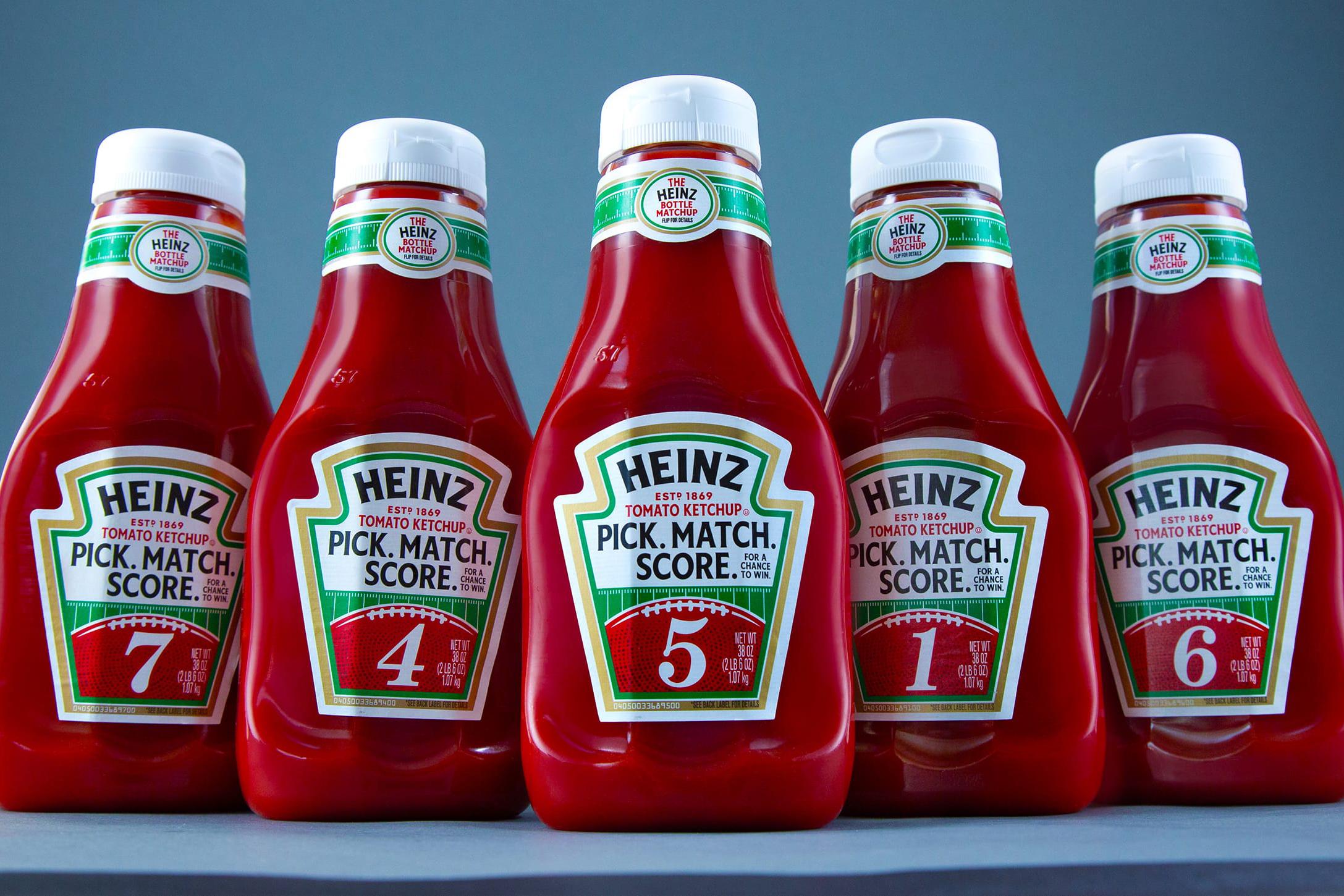 Kraft-Heinz: Bottle matchup