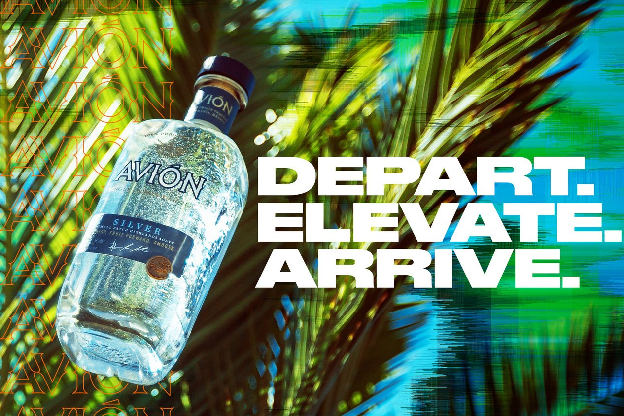 Avion Tequila: Depart. Elevate. Arrive.