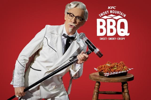 And the First Female Celeb KFC Colonel Is ...