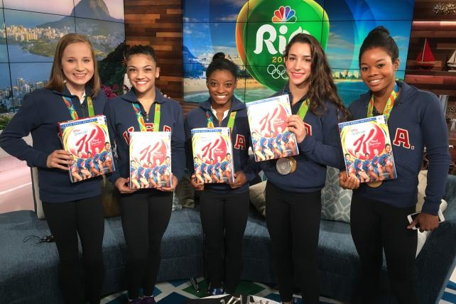 See the Box: Special K Red Berries Goes Gold for Olympic Gymnasts