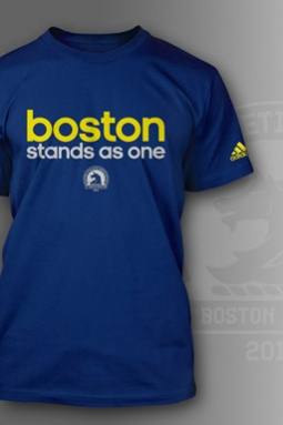 Adidas Brings Out 'Boston Stands As One' Shirt
