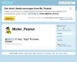 Fake: Mr. Peanut