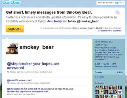 Real: Smokey the Bear