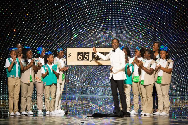 How Proud Girl Scout Dad Chris Rock Got the Oscar Cookie Sale Started