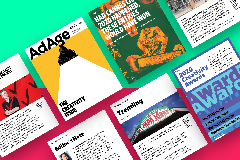 Creativity Awards winners revealed: Ad Age Digital Edition