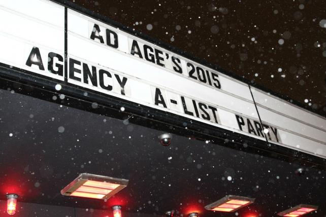 Almost Sold Out: Celebrate Ad Age's Agency A-List Winners
