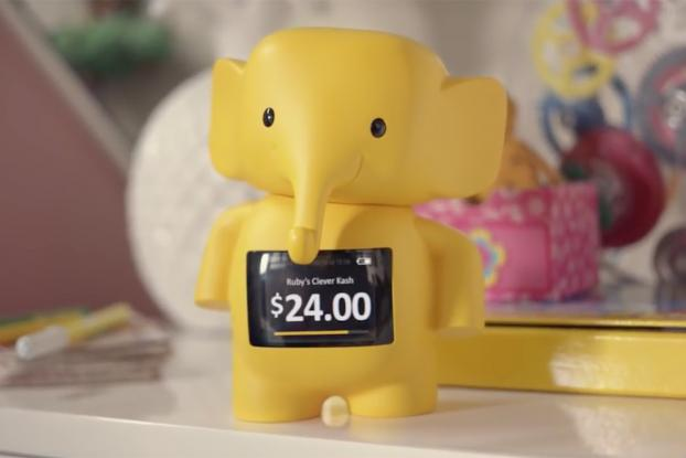 This Adorable Cashless Piggybank Is Designed to Help Kids
